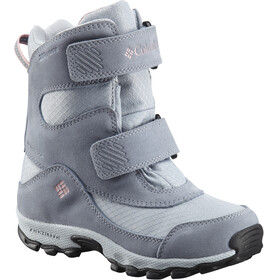 Columbia Parkers Peak Hook-and-Loop Boots Youth Cirrus Grey/Rosewater
